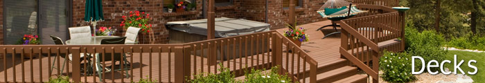 Deck Design & Installation in VA, including Bedford, Rocky Mount & Roanoke.