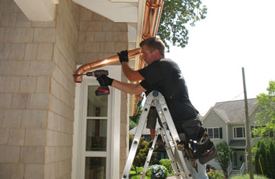 Gutter installation in Vinton