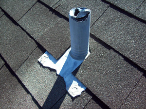 Damaged Roof Vent Repair in Greater Roanoke